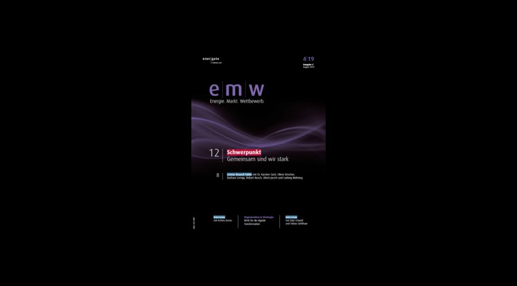 EMW - Cover der Ausgabe 2019 4