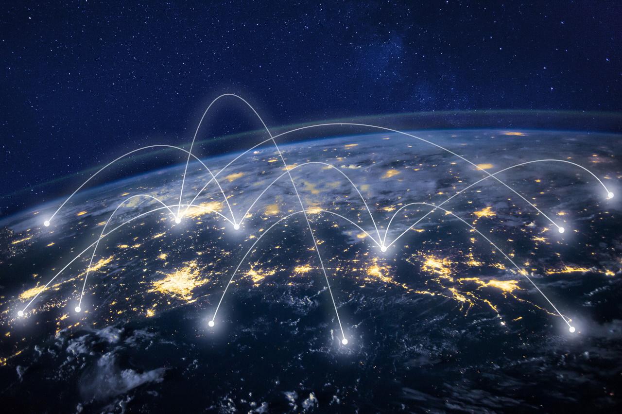 global communication, business communication worldwide