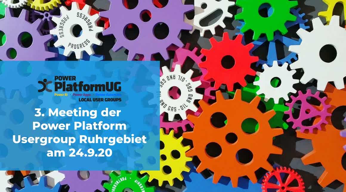 apptech - Power PlatformUG Ruhrgebiet - drittes Treffen