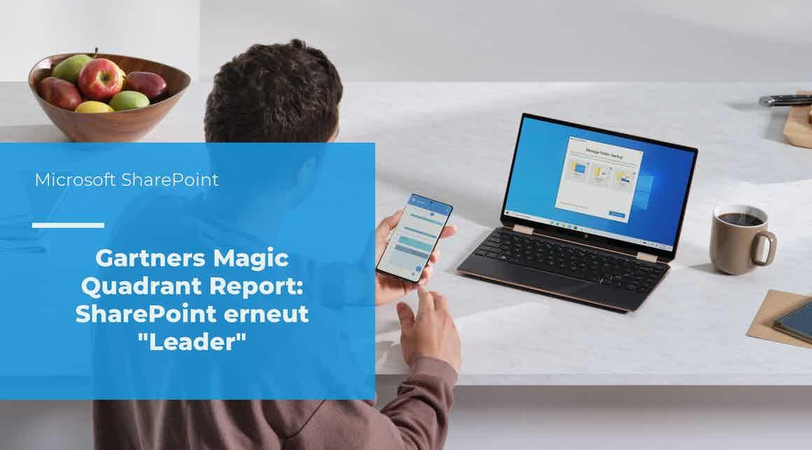 apptech - SharePoint - Gartners Magic Quadrant 2020