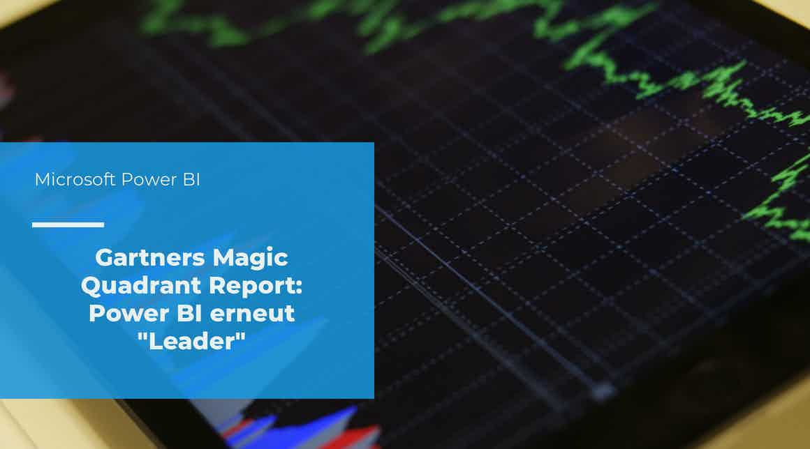 apptech - Microsoft Power BI - Gartners Magic Quadrant 2021
