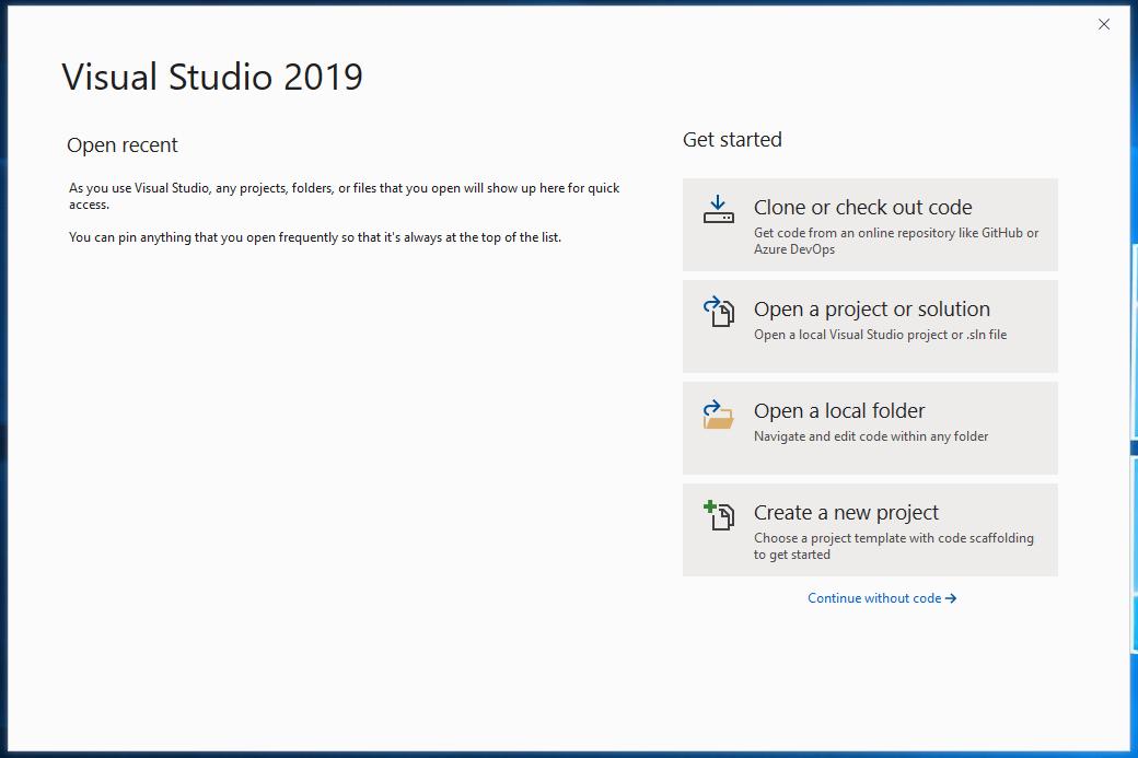 01 Visual Studio 2019 und Fetch XML