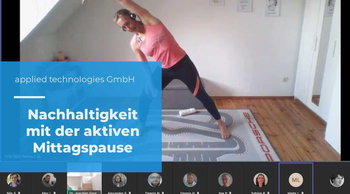 apptech - aktive Mittagspause mit Sabine Hempel